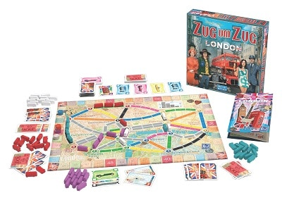 Zug um Zug London Brettspiel News