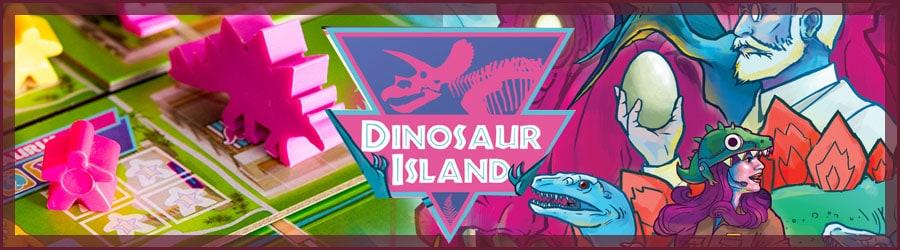 Dinosaur Island Brettspiel Review