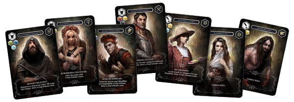 Vampire: The Masquerade - Heritage - Clan Leaders