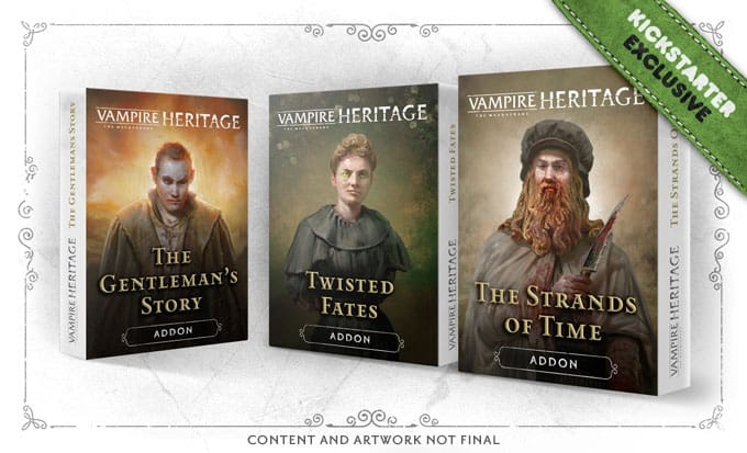 Vampire: The Masquerade - Heritage Expansions