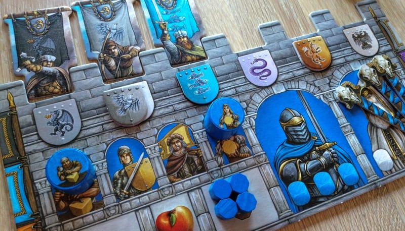 Merlin Brettspiel Spielertableau