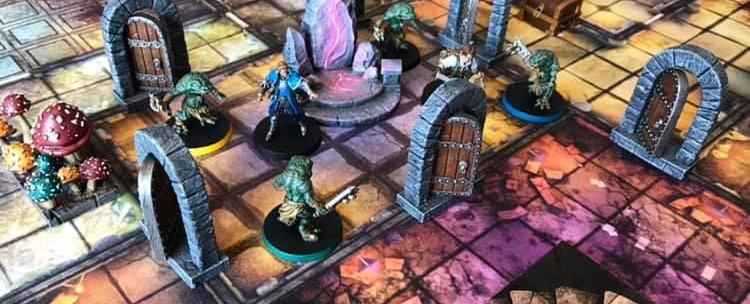 Altar Quest Spielbrett