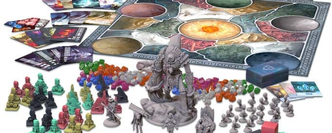 Icaion Brettspiel Material