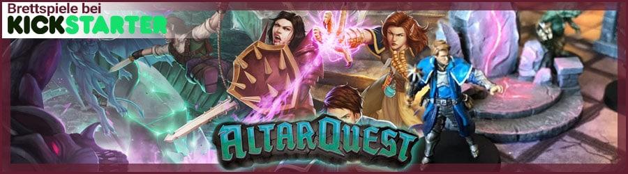 Kickstarter Banner Altar Quest