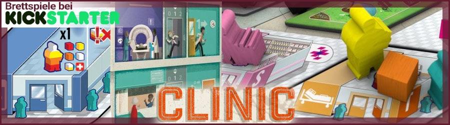 CliniC Deluxe Edition bei Kickstarter