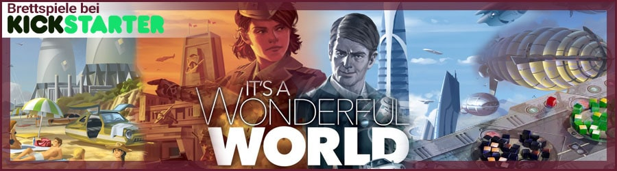 It's a Wonderful World bei Kickstarter