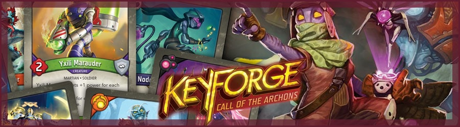 Keyforge Kartenspiel Review
