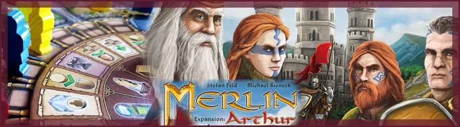 Merlin Brettspiel mit Arthur Erweiterung