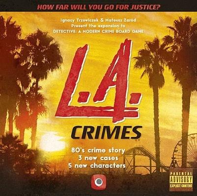 Detective LA Crimes Cover