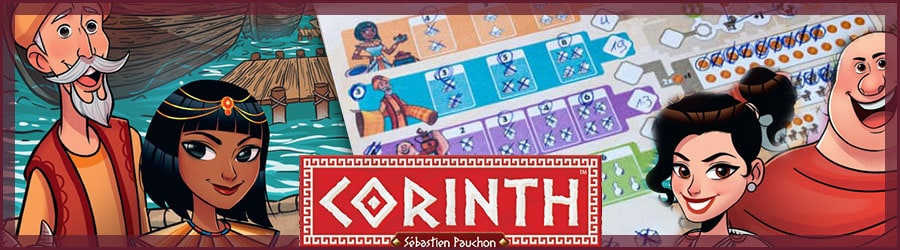 Corinth Brettspiel Review