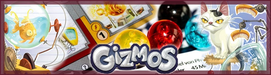 Gizmos Brettspiel Review