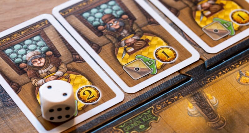 Die Tavernen im Tiefen Thal Brettspiel Karten