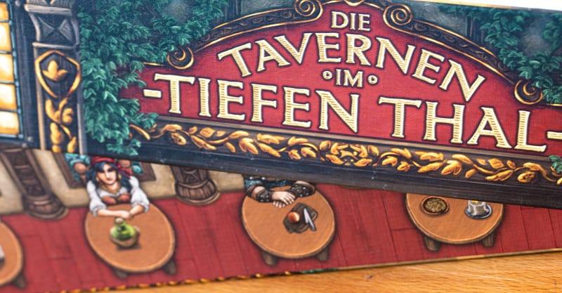 Die Tavernen im Tiefen Thal Brettspiel