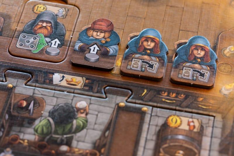 Die Tavernen im Tiefen Thal Brettspiel Kneipe