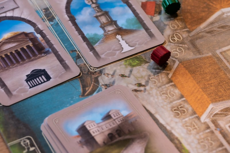 Brettspiel Forum Trajanum Siegpunkte