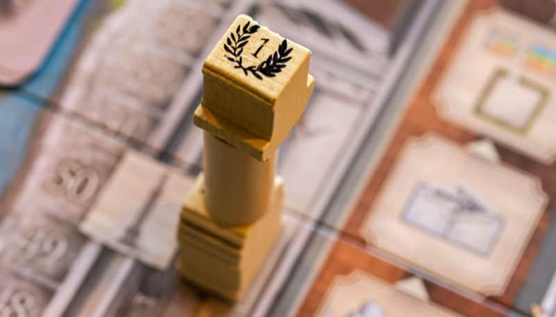 Brettspiel Forum Trajanum Säule