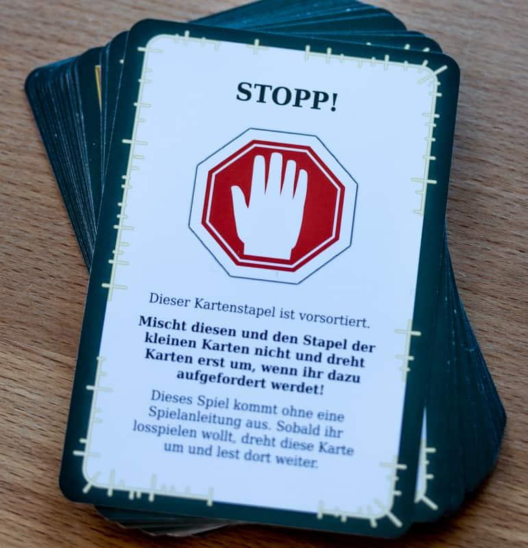 UNDO Spiel Karten