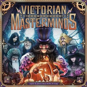 Victorian Masterminds Brettspiel Cover