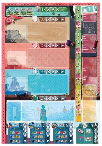 Pret-a-Porter Third Edition Spielplan