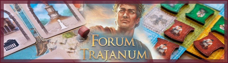 Forum Trajanum Brettspiel Review