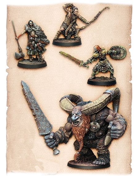 Trudvang Legends Miniaturen