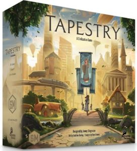 Tapestry Brettspiel Schachtel