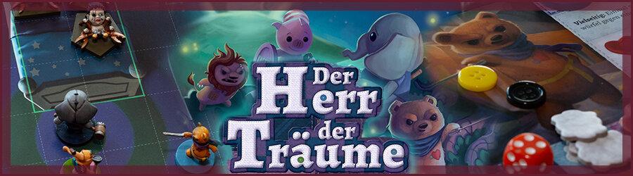 Der Herr der Träume Brettspiel Review