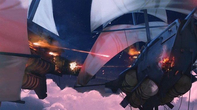 Brettspiele bei Kickstarter: Windward PVP