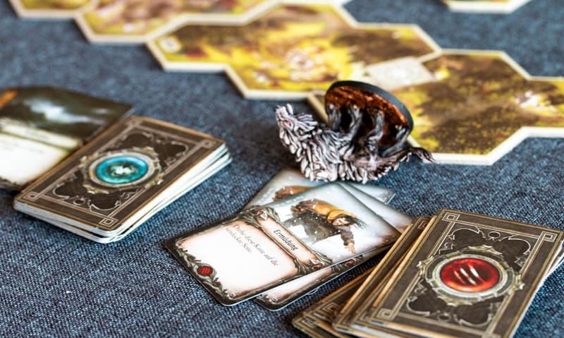 Herr der Ringe Reise durch Mittelerde Brettspiel Schaden