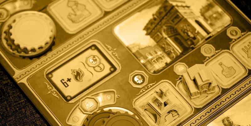 Victorian Masterminds - Das Spielbrett