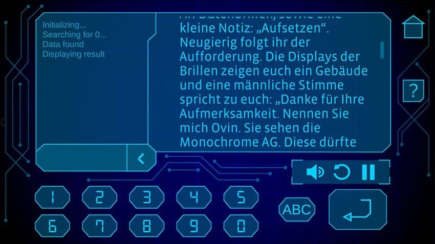 Adventure Games App Screen