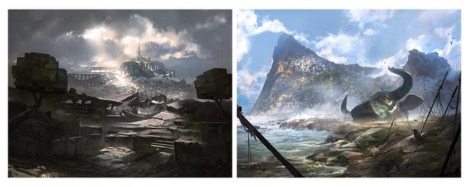 Aeon Trespass: Odyssey - riesige Welt