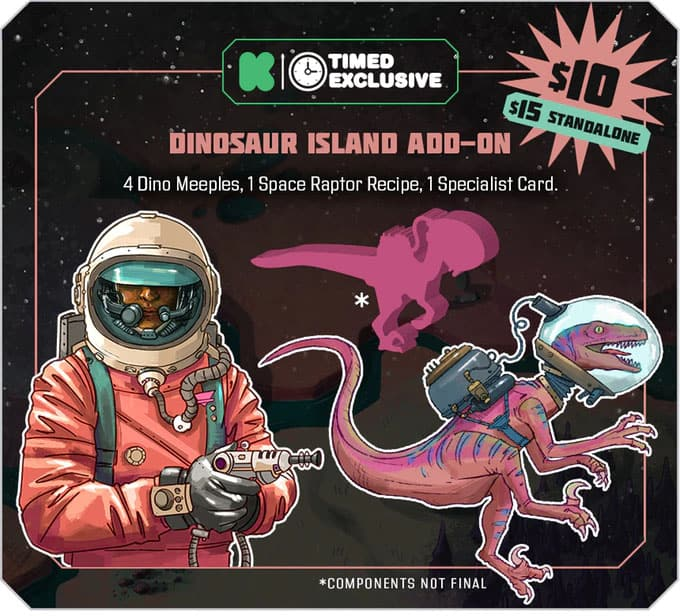 Godspeed Dinosaur Island Promo