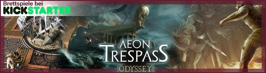 Aeon Trespass: Odyssey - Brettspiel bei Kickstarter