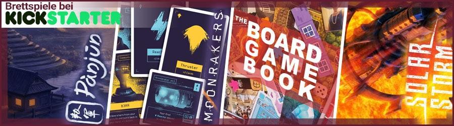 Brettspiele bei Kickstarter - September 2019