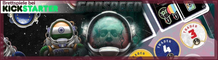 Godspeed Brettspiel bei Kickstarter