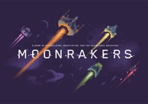 Moonrakers Brettspiel Cover