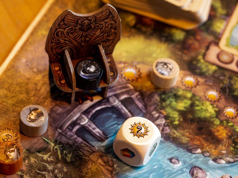 Rune Stones Brettspiel Spieler Würfel