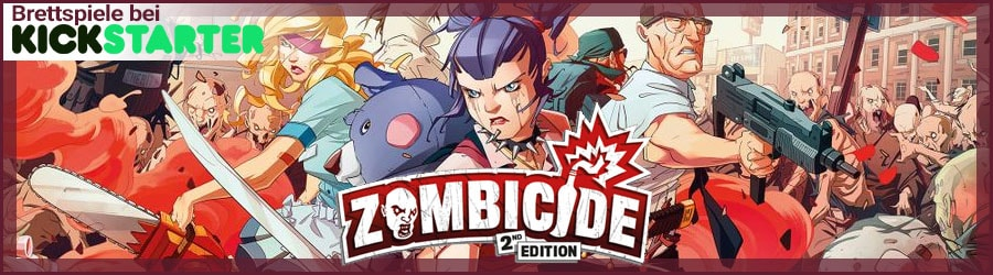 Kickstarter Preview: Zombicide 2nd Edition
