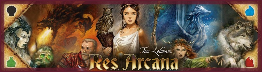 Brettspiel Review: Res Arcana
