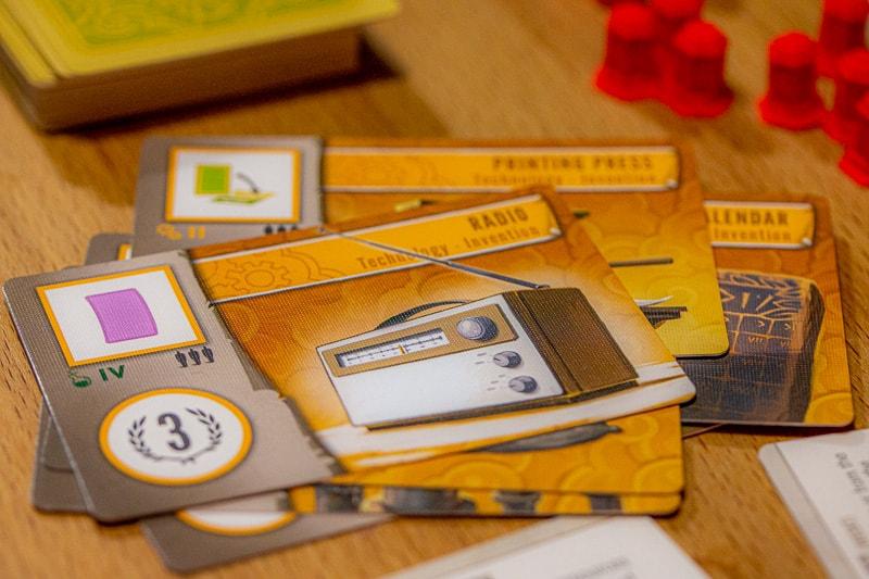 Tapestry Brettspiel Technologie