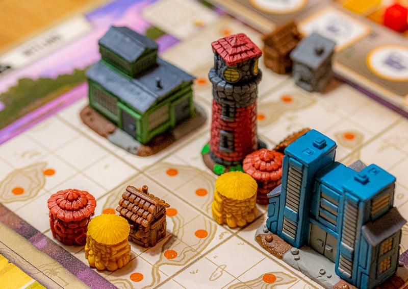 Tapestry Brettspiel Wahrzeichen Hauptstadt