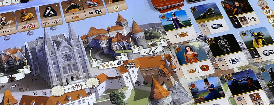 Glory: A Game of Knights - Spielbrett