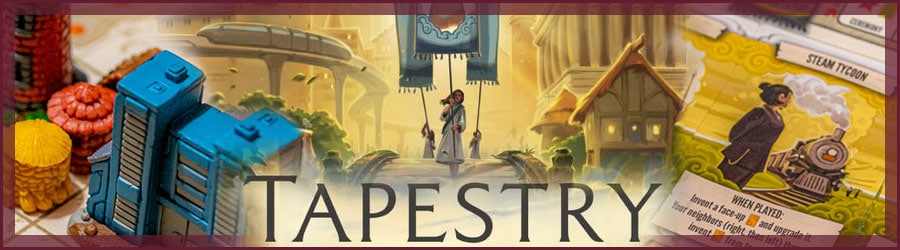 Tapestry Brettspiel Review