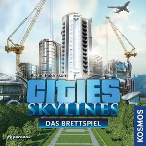 Cities Skylines Brettspiel Cover