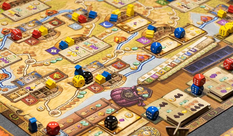Marco Polo In The Service Of The Khan Board Game