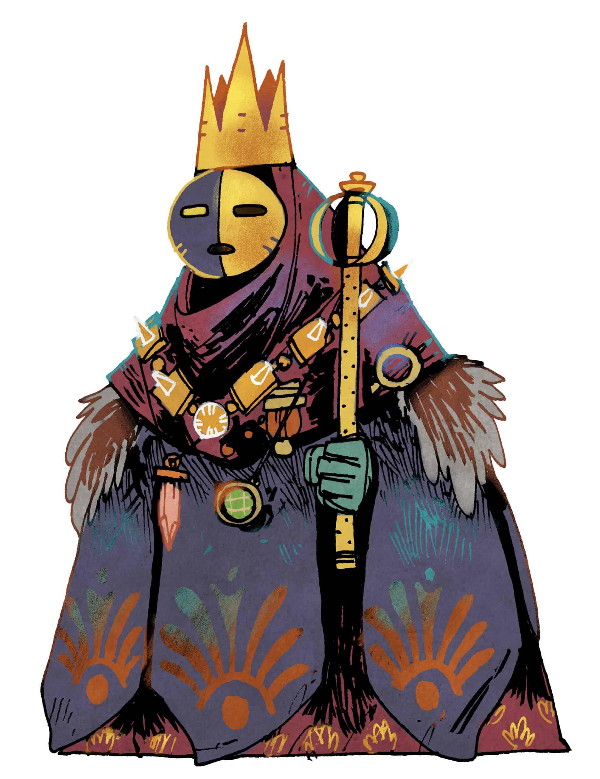 Brettspiele bei Kickstarter: Oath Character Art