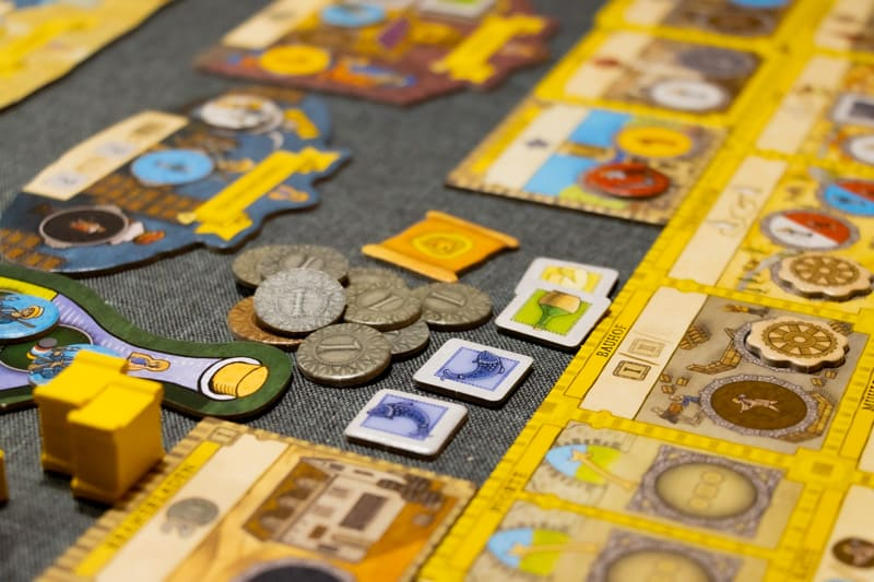 Orléans Stories Brettspiel Waren