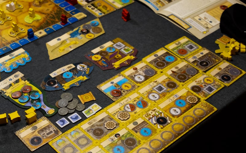 Orléans Stories Board Game Player Board