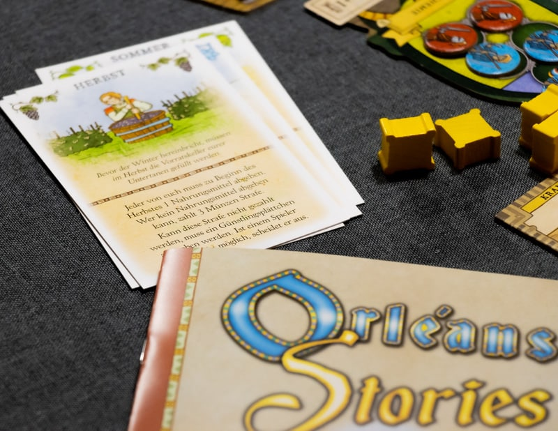 Orléans Stories Brettspiel Booklet